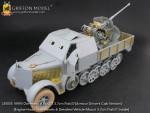 1-35-WW-II-German-Sd-Kfz-7-2-3-7cm-Flak37-Armour-Driver-s-Cab-Version-