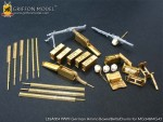 1-35-WW-II-German-Ammo-Boxes-Belts-Drums-for-MG34-and-MG42