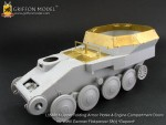 1-35-Upper-Folding-Armor-Plates-and-Engine-Compartment-Doors-for-WW-II-German-Flakpanzer38t-Gepard