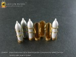 1-35-Brass-Preformed-15cm-Shell-Projectile-Containers-for-WW-II-German-Sd-Kfz-138-1-Ausf-H-Grille