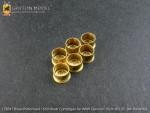 1-35-Brass-Preformed-15cm-Shell-Cartridges-for-WW-II-German-15cm-sIG-33All-Variants