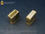 1-35-12-Round-Wood-Ammo-Storage-Bins-for-WW-II-German-3-7cm-Flak
