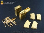 1-35-WW-II-German-20mm-Ammo-and-Ammo-Boxes-for-2cm-Flak38