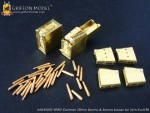1-35-WW-II-German-20mm-Ammo-and-Ammo-Boxes-for-2cm-Kw-K38