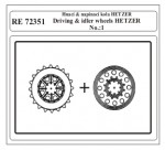 1-72-Driving-and-idler-wheels-HETZER-No-1