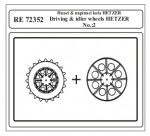 1-72-Driving-and-idler-wheels-HETZER-No-2