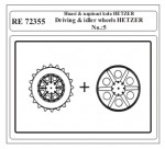 1-72-Driving-and-idler-wheels-HETZER-No-5