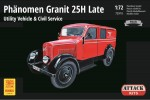 1-72-Phanomen-Granit-25H-Late-Utility-Vehicle-and-Civil-Service