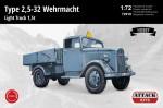 1-72-Type-25-32-Wehrmacht-Light-Truck-15t-HOBBY