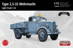 1-72-Type-25-32-Wehrmacht-Light-Truck-15t-HOBBY