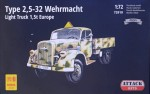 1-72-Type-25-32-Wehrmacht-Light-Truck-15t-Europe