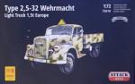 1-72-Type-25-32-Wehrmacht-Light-Truck-15t-Europe