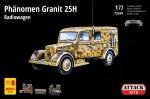 1-72-Phanomen-Granit-25H-Radiowagen-w-resin-and-PE