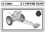 1-72-37cm-Pak-35-36-Antitamk-Gun-2pieces-in-box