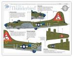 RARE-1-48-B-17G-Thunderbird-359th-BS-303rd-BG-posledni-kus