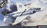 1-48-McDonnell-F-4J-Phantom-VF-84-Jolly-Rogers-Cartograf-decals-and-bonus-pilot-figure-included-