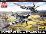 1-72-Normandy-1944-2014-Limited-Edition-Supermarine-Spitfire-Mk-XIVc-and-Hawker-Typhoon-Mk-IB