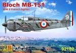 1-72-Bloch-MB-151-2x-France-Greece-Germany