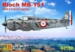 1-72-Bloch-MB-151-2x-France-Greece-Germany