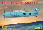 1-72-Yak-11-C-11-Moose-Czech-Hungary-Poland