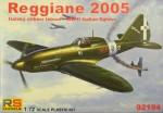 1-72-Reggiane-2005-Italian-fighter-WWII-4x-camo