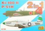 1-72-Ki-100-II-and-P-51-H-Double-kit