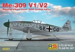 1-72-Messerschmitt-Me-309-V1-and-V2