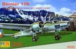 1-72-Dornier-Do-17K-German-WWII-Bomber-4x-camo