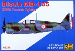 1-72-Bloch-MB-155-French-WWII-fighter-5x-camo