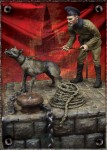 1-35-Russian-Guard-with-Dog