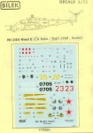 RARE-1-72-Decals-Mi-24V-Hind-E-CR-Nato-Tygri-98Rusko