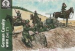 1-72-GERMAN-SS-CAVALRY-WWII-12-figures-and-6-horses