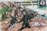 1-72-Italian-Infantry-in-campaign-dress-WWII-x-42-pieces