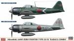 1-72-Mitsubishi-A6M3-Zero-TYPE-2-32-Rabaul-Combo-Two-kits-in-the-box