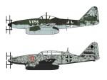 1-72-Messerschmitt-Me262V056-and-Me262B-1a-U1-Night-Fighter