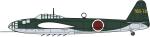 1-72-Kugisho-P1Y1-Attack-Bomber-Ginga-Type-11-765th-Flying-Group-Ground-Attack-Variant