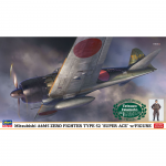 1-48-Mitsubishi-A6M5-Type-0-Model-52-Super-Ace-w-Figure