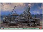 1-72-60cm-54cm-Morser-Karl-1st-Battery-Adam-Baldul-w-Munitionspanzer-IV