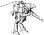 1-20-Humanoid-Type-Unmanned-Space-Interceptor-Grosser-Hund-Schwarzer-Hund
