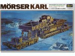 RARE-1-72-German-Moerser-Karl-on-Railway-Carrier