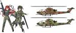 1-72-Rick-G-Earth-Bell-AH-1S-Cobra-Chopper-Kisarazu-Special-2pcs