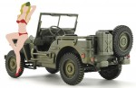 1-24-1-4-ton-4x4-Truck-w-Blonde-Girl-Figure