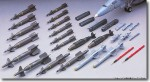 1-48-Aircraft-Weapons-Set-D-US-Smart-Bombs-and-Target-Pods