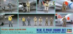 1-48-WWII-Pilot-figure-set-German-Japanese-American-and-British-