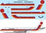 1-144-Aeroamerica-Red-Orange-and-Mauve-Boeing-720