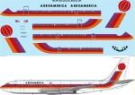 1-144-Aeroamerica-Red-Orange-and-Mauve-Boeing-720