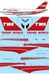 1-144-TWA-Trans-World-Boeing-747SP-31-laser-decal