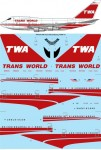1-144-TWA-Trans-World-Boeing-747SP-31-laser-decal
