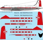1-72-Malta-Metropolitan-Douglas-C-54D-DC-4