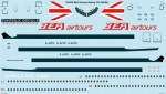 1-144-BEA-Airtours-Boeing-707-436-Screen-printed-decal